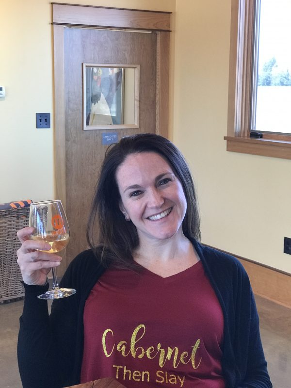 Enjoy a glass of Wine at Muse Vineyards